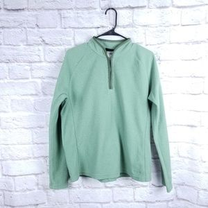 Patagonia Synchilla XL green pullover sweater